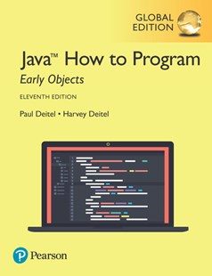 Java How to Program, Early Objects, Global Edition by Paul Deitel, Harvey Deitel (9781292223858) - PaperBack - Computing Programming