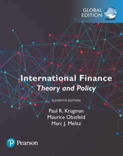 International Finance: Theory and Policy, Global Edition by Paul R. Krugman, Maurice Obstfeld, Marc Melitz (9781292238739) - PaperBack - Business & Finance Finance & investing
