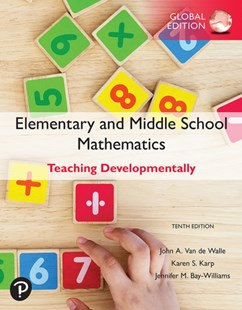(ebook) Elementary and Middle School Mathematics: Teaching Developmentally, Global Edition - Business & Finance Careers