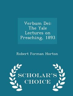 Verbum Dei by Robert Forman Horton (9781298124760) - PaperBack - Education Trade Guides