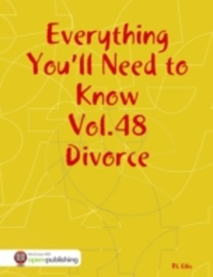 Everything You'll Need to Know Vol.48 Divorce