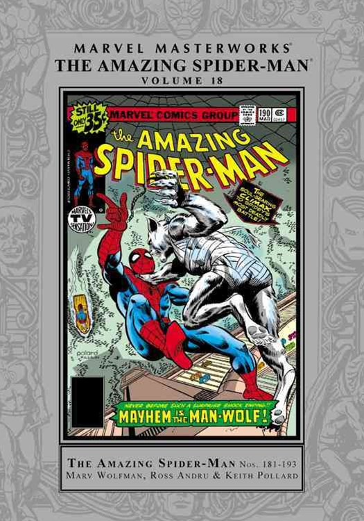 Marvel Masterworks: The Amazing Spider-Man Vol. 18