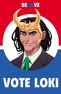 Vote Loki by Christopher Hastings, Stan Lee, Ralph Macchio, Langdon Foss, Jack Kirby, Walt Simonson (9781302902629) - PaperBack - Graphic Novels Comics
