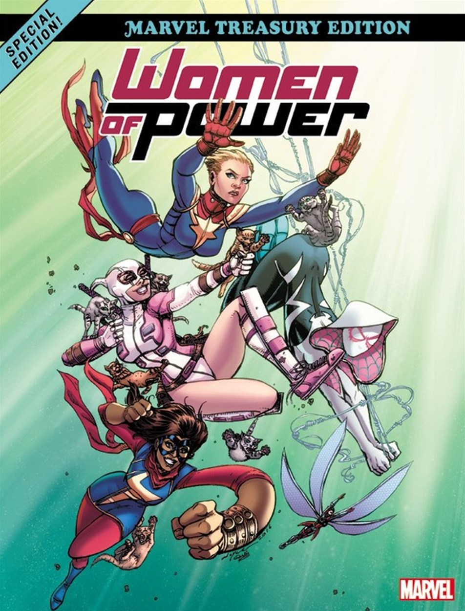 Heroes of Power: The Women of Marvel: All-New Marvel Treasury Edi