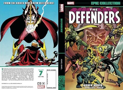 Defenders Epic Collection: Ashes, Ashes? by J. M. Dematteis, Don Perlin, Steven Grant (9781302904289) - PaperBack - Graphic Novels Comics