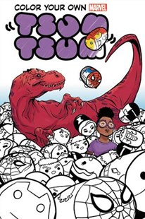 Color Your Own Marvel Tsum Tsum by David Baldeon, Terry Pallot, Scott Hanna (9781302907143) - PaperBack - Graphic Novels Comics