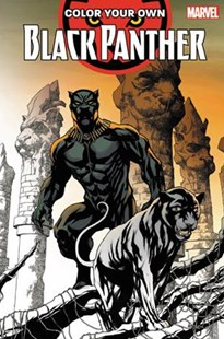 Colour Your Own Black Panther by Brian Stelfreeze, Chris Sprouse, Jack Kirby (9781302908997) - PaperBack - Graphic Novels Comics