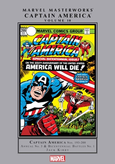 Marvel Masterworks: Captain America Vol. 10