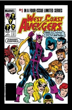 Avengers West Coast Epic Collection - How the West Was Won 1
