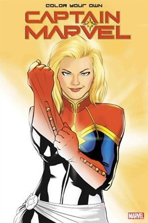 Colour Your Own Captain Marvel