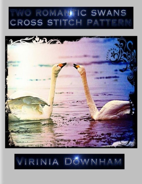 (ebook) Two Romantic Swans Cross Stitch Pattern