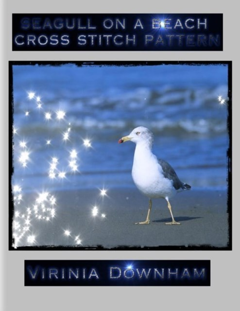 (ebook) Seagull on a Beach Cross Stitch Pattern