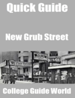 (ebook) Quick Guide: New Grub Street