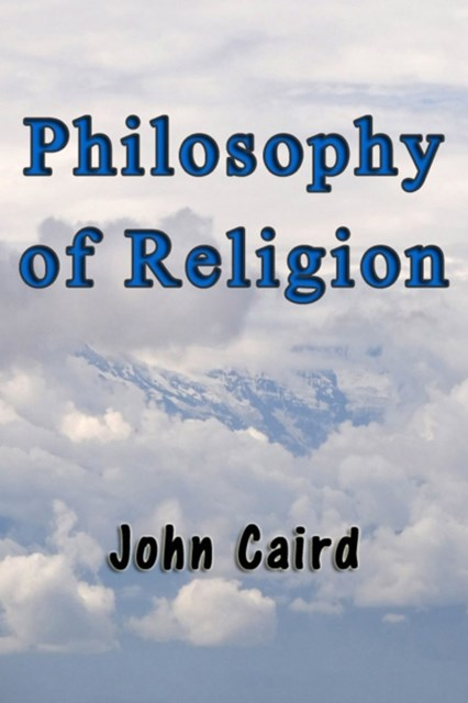 (ebook) Philosophy of Religion