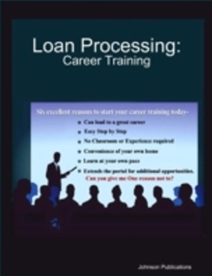 (ebook) Loan Processing: Career Training