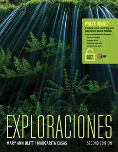 Exploraciones (with iLrn' Heinle Learning Center, 4 terms (24 months)  Printed Access Card) by Margarita Casas, Margarita Casas (9781305252479) - PaperBack - Language European Languages