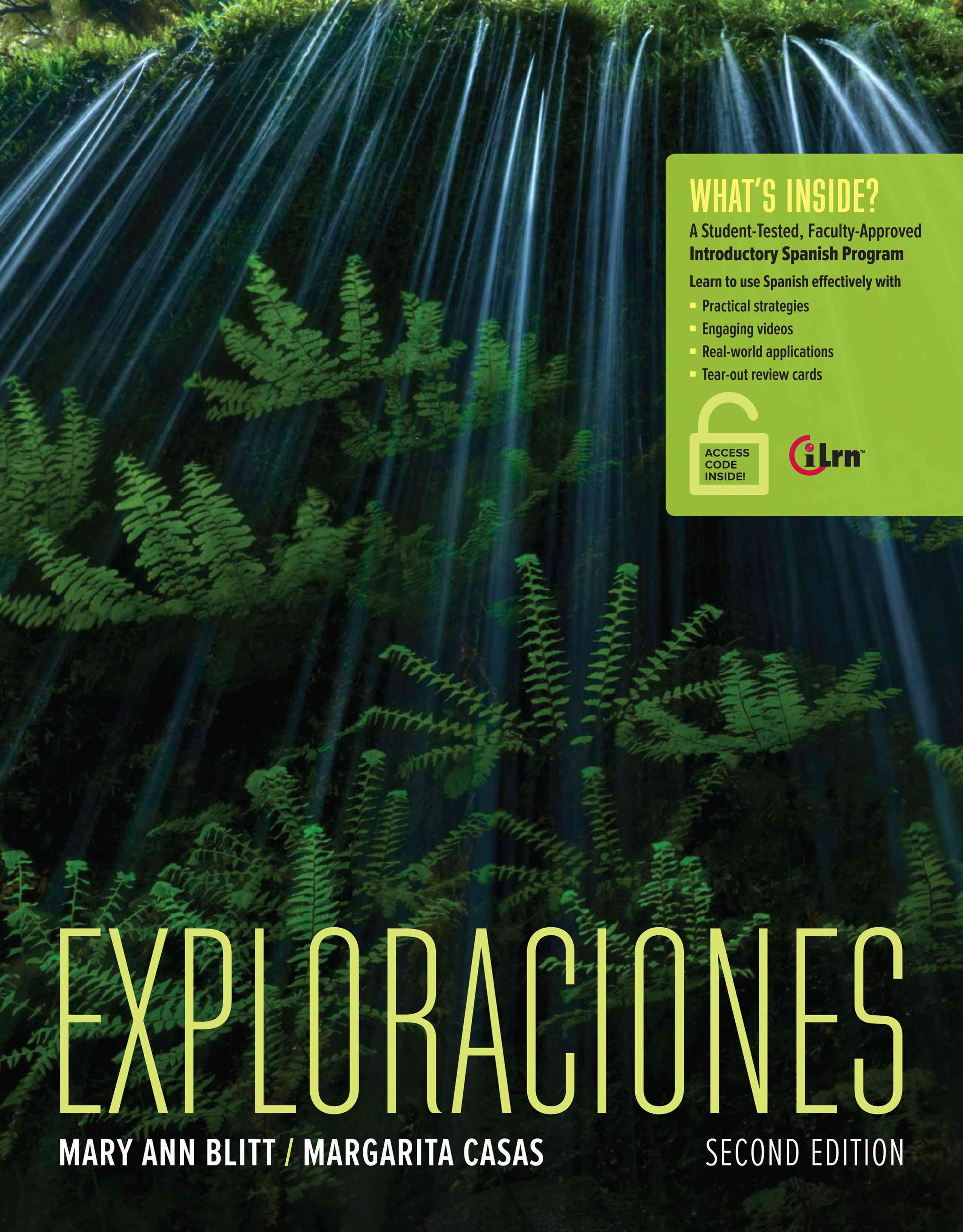 Exploraciones (with Student Activities Manual and iLrn' Heinle Learning  Center, 4 terms (24 months) Printed Access Card)