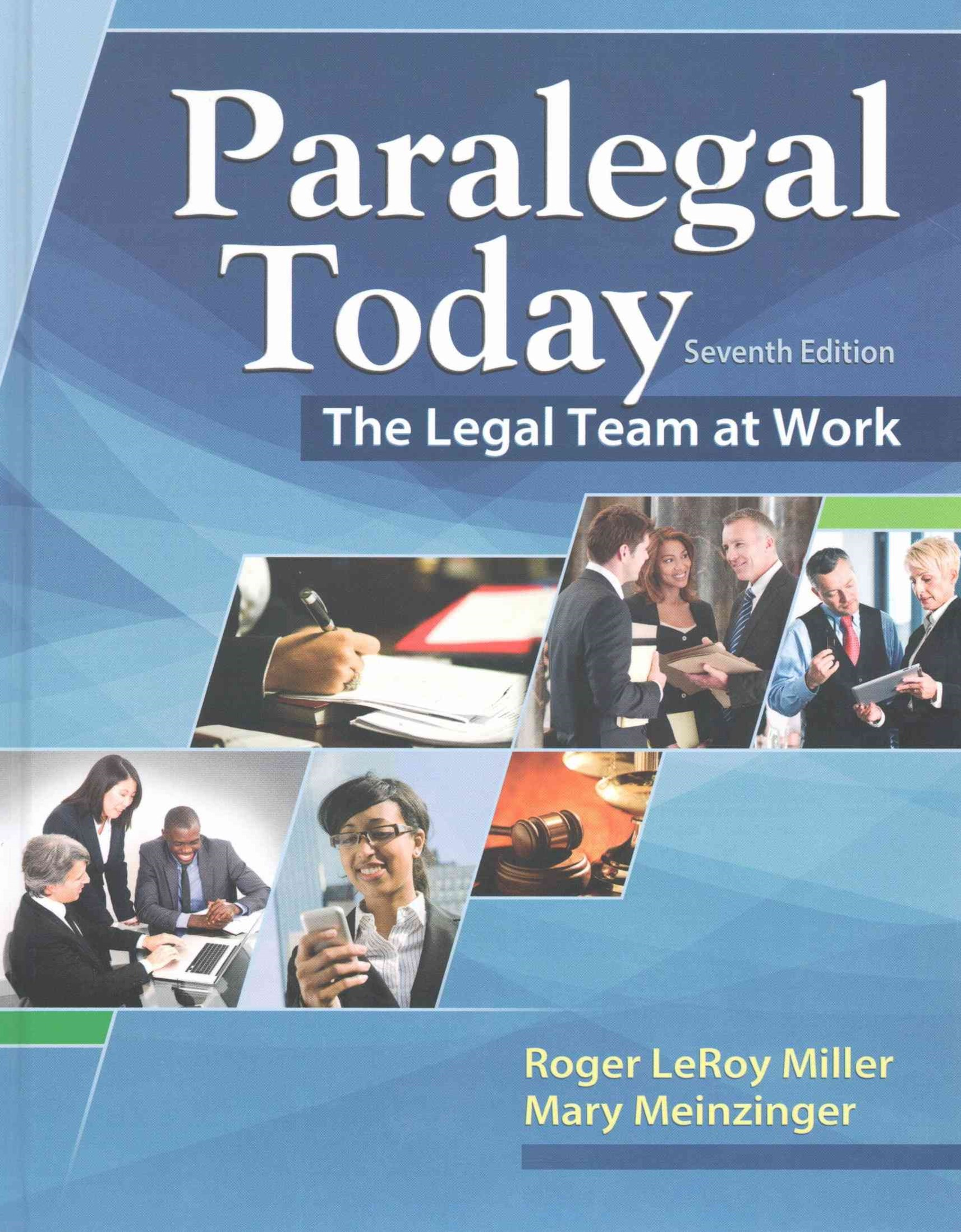 Paralegal Today : The Legal Team at Work