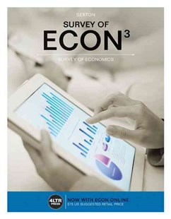 Survey of ECON (with Survey of ECON Online, 1 term (6 months) Printed  Access Card) by Robert Sexton (9781305657625) - PaperBack - Business & Finance Ecommerce