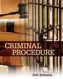 Criminal Procedure by Joel Samaha (9781305969001) - HardCover - Social Sciences Criminology