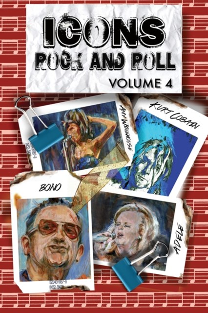 (ebook) Orbit: Icons of Rock and Roll #4: Kurt Cobain, Amy Winehouse, Adele, Bono