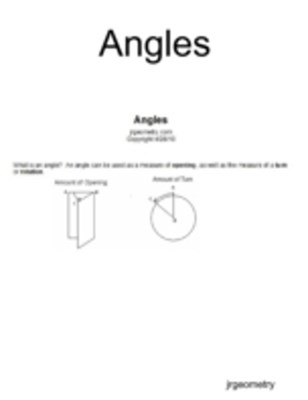 (ebook) Angles