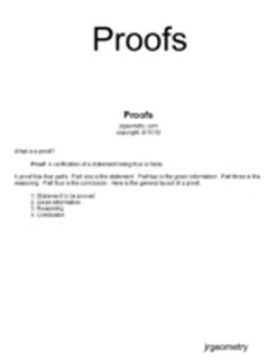 (ebook) Proofs