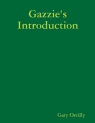 (ebook) Gazzie's Introduction