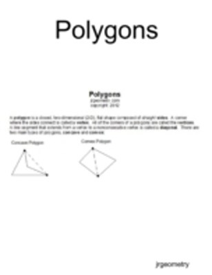 (ebook) Polygons