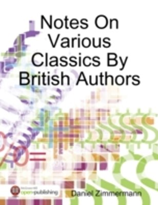 (ebook) Notes On Various Classics By British Authors