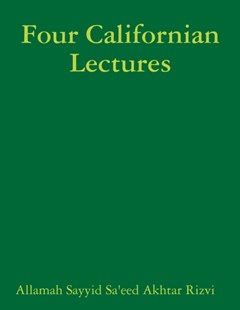 Four Californian Lectures