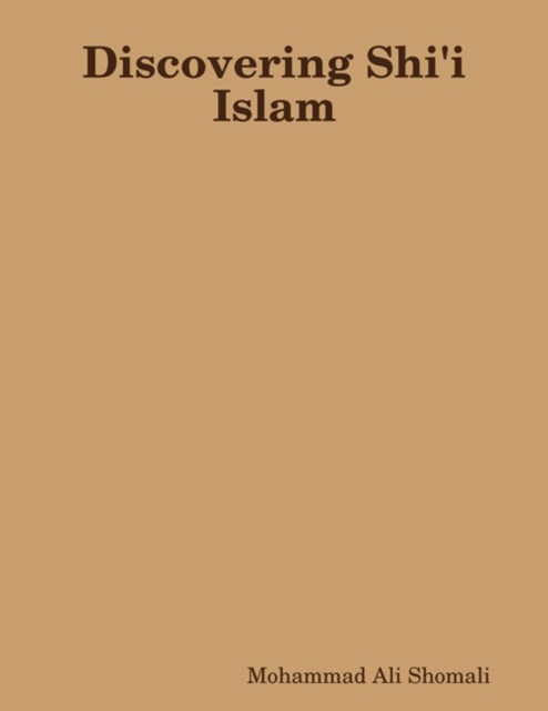 (ebook) Discovering Shi'i Islam