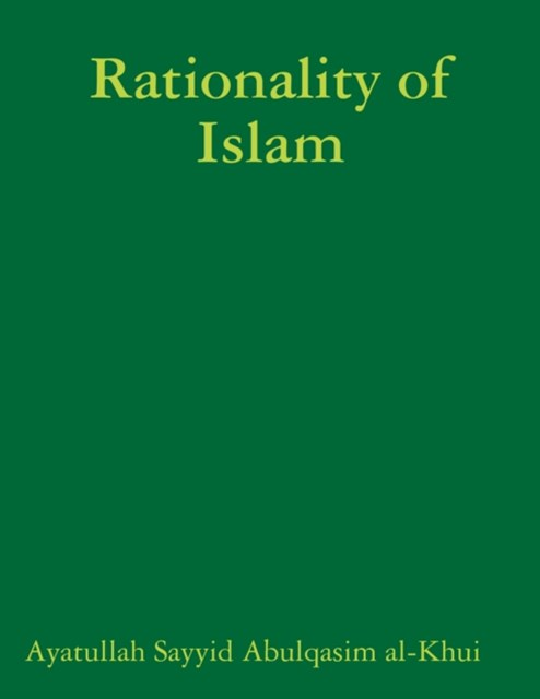(ebook) Rationality of Islam