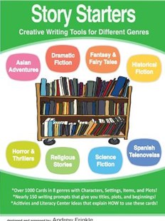 Story Starters - Creative Writing Tools for Different Genres by Andrew Frinkle (9781312650725) - PaperBack - Education Trade Guides