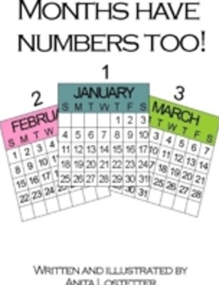(ebook) Months Have Numbers Too!