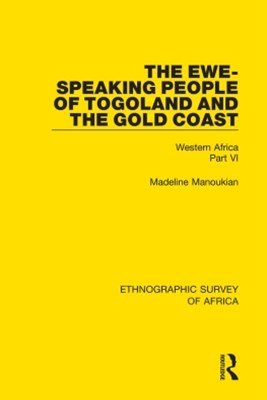 (ebook) The Ewe-Speaking People of Togoland and the Gold Coast