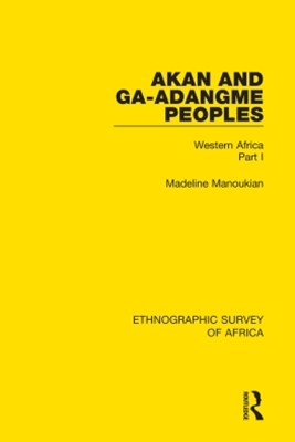 (ebook) Akan and Ga-Adangme Peoples