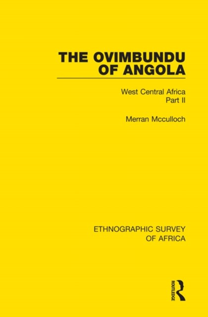 The Ovimbundu of Angola