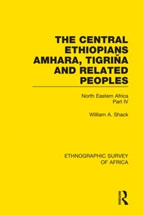 (ebook) The Central Ethiopians, Amhara, Tigriňa and Related Peoples - Science & Technology Environment