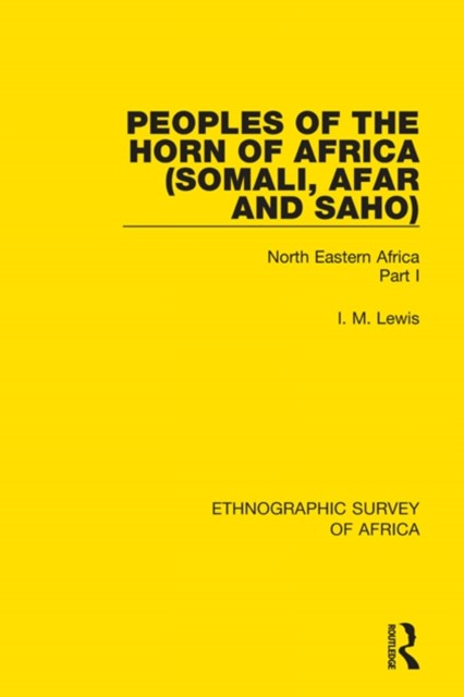 (ebook) Peoples of the Horn of Africa (Somali, Afar and Saho)