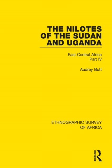 The Nilotes of the Sudan and Uganda