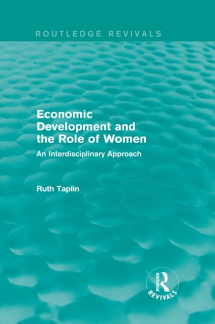 (ebook) Routledge Revivals: Economic Development and the Role of Women (1989)