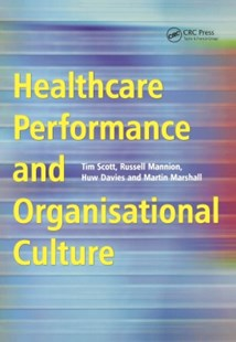 (ebook) Healthcare Performance and Organisational Culture - Reference Medicine