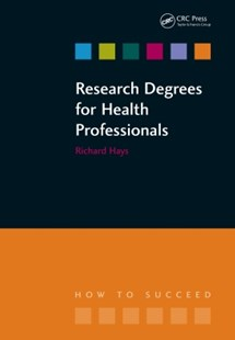 (ebook) Research Degrees for Health Professionals - Reference Medicine