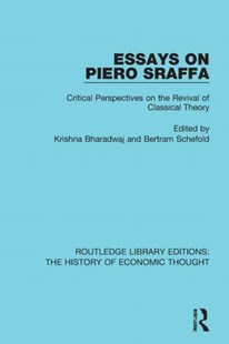 (ebook) Essays on Piero Sraffa - Business & Finance Ecommerce