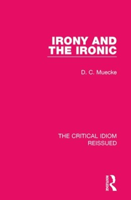 (ebook) Irony and the Ironic