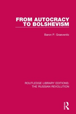 (ebook) From Autocracy to Bolshevism
