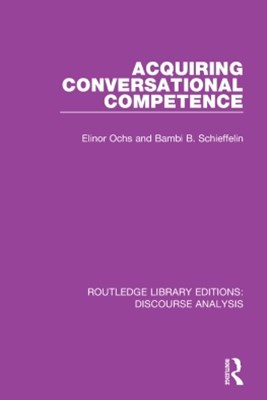 Acquiring conversational competence