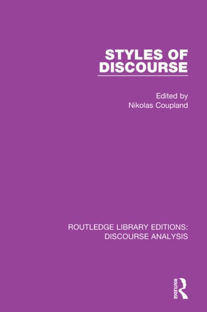 Styles of Discourse