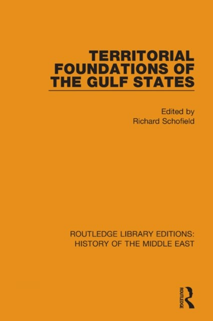 Territorial Foundations of the Gulf States
